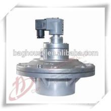 Válvula de pulso para coletor de pó do filtro de pulso