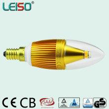 Dimmable 95ra 5W 2200k E14 Lâmpada LED