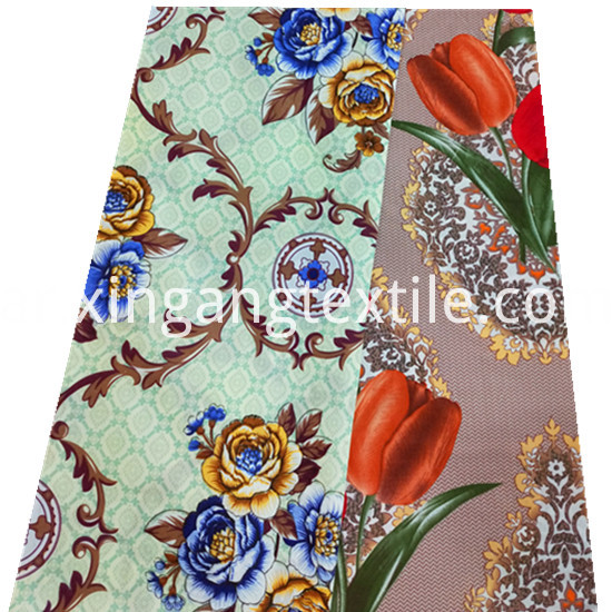 Beautiful Flower Designs Printing 100 Polyester Microfiber1