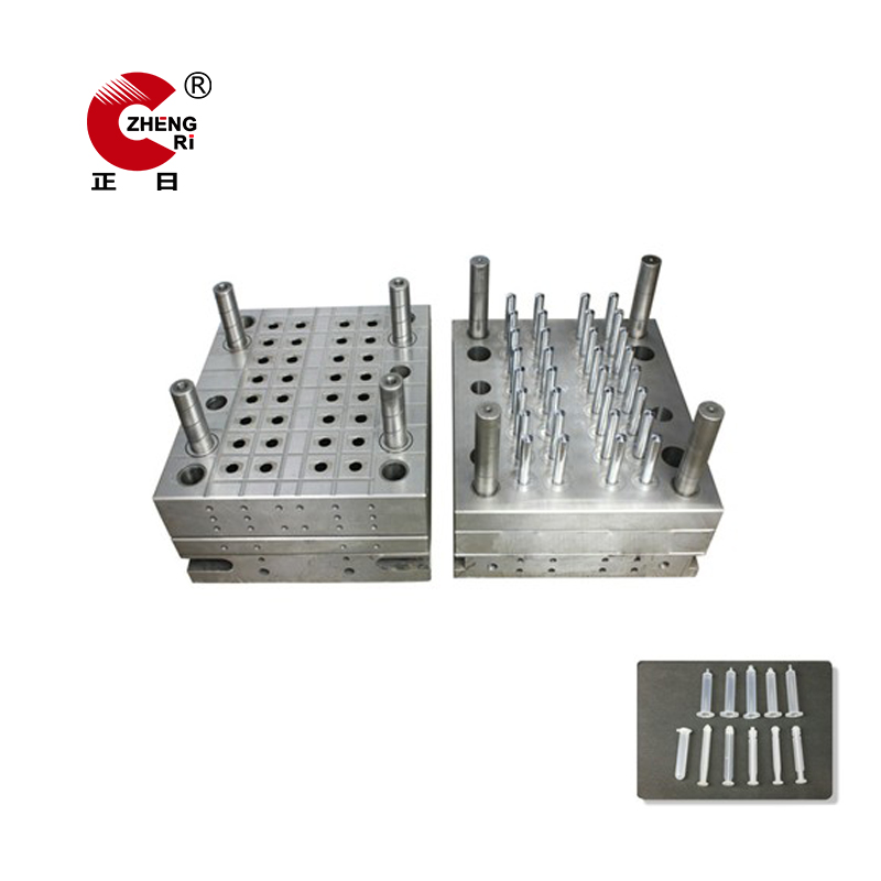 Medical Disposable syringe barrel mold