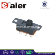 Mini interruptor deslizante SS23L05 hecho en China 2p3t interruptor deslizante