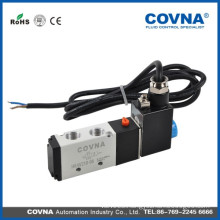 HK4V210-08 series 5/2 way DC12v single head double position air solenoid valve
