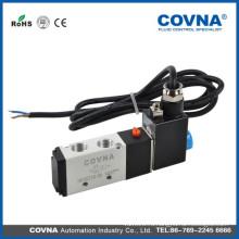 HK4V210-08 серия 5/2 way DC12v однопоточный воздушный электромагнитный клапан с двойной позицией