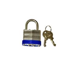 304 candado laminado de acero inoxidable con llaves (1513)