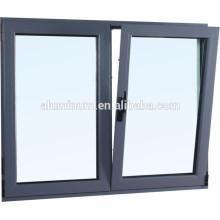 CHINA TOP THERMAL BREAK ALUMINIUM GLASS SIDE-HUNG OUTSIDE WINDOW