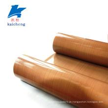 Correia transportadora de PTFE resistente ao calor de superfície antiaderente