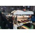 Fabricant professionnel de YTSING-YD-7121 galvanisé / coloré en acier / alliage d'aluminium en acier Gusset plaque de rouleau formant la machine