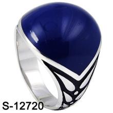 Nuevo diseño de joyería de moda anillo de plata 925