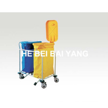 (B-110) ABS Double Buckets Contaminant Trolley