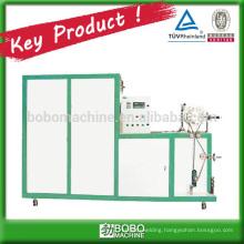 Aluminum flexible insulated duct machine