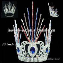 Beauty Crystal and Rhinestone pageant tiara crown