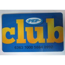 Cartão de membro PVC