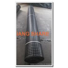 Geogrelha de poliéster revestido de PVC para reforço de engenharia civil