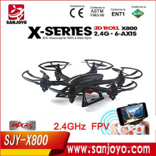 MJX X800 G-Sensor Wifi FPV Real Time Video 2.4G electric helicopter quadcopter AR.drone rc heliCopter 6-axis gyroscope