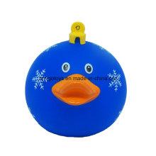 Presente da bola do animal do círculo para o dia de Natal