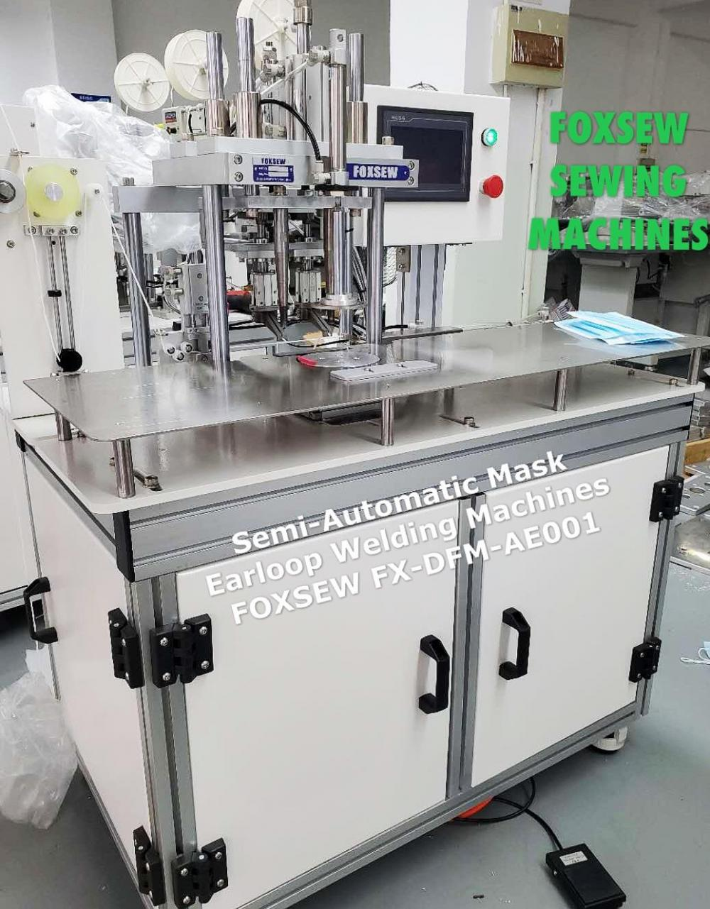 Semi Automatic Mask Earloop Welding Machines Fx Dfm Ae001 1