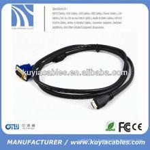 Переходник VGA на HDMI-кабель MALE TO MALE