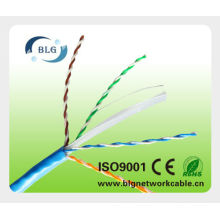 Profissional cabo fábrica: indoor lan cabo cat6 4 pares