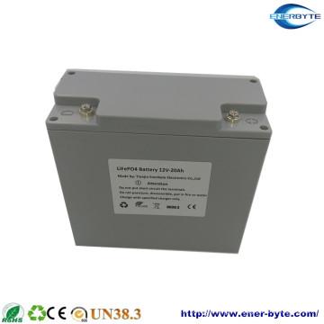 Ensemble de batterie 12V 20F LiFePO4 conçu par l'usine