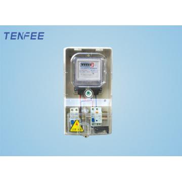 Single Phase Vorauszahlung Meter Box