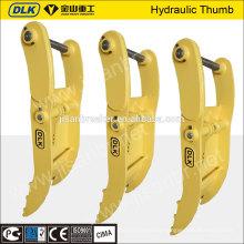high quality hydraulic excavator thumb for 11-16ton excavator