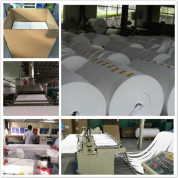 AGM Batterie Separator Fiberglas Tissue Compound