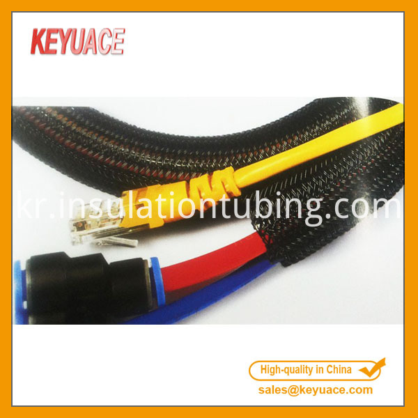 Self Closing Braided Cable Sleeve