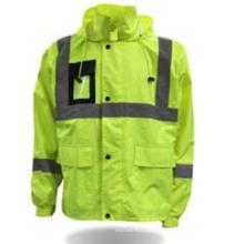 Vêtements de protection en gros sécurité Parka haute visibilité veste