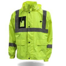Wholesale Protective Clothing Safety Parka High Visibility Jacket