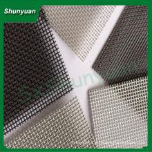 Aço inoxidável bala prova janela tela / malha de aço inoxidável tecido