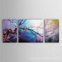 Art de toile moderne Peinture à l'huile de fleur