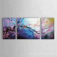 Modern Canvas Art Flower Oil Painting