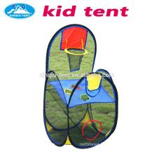 Children playing basketball tent