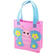 2015 artes y artesanías para niños hechos a mano Felt Fabric DIY bolso