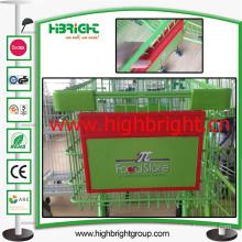 Supermarket Shopping Trolley Advertising Board