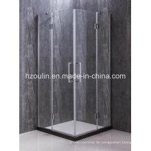Einfache quadratische Duschabtrennung