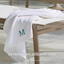 Serviette de bain turquoise de coton de Terry de Deisgn serviette de bain avec logo personnalisé BtT-170 Chine fabricant