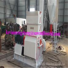 Polvo de madera línea serrín máquina martillo molino de pulido
