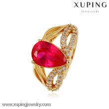 10874-Xuping américain diamant bijoux Dernière conception anneau