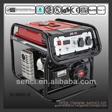 3800 vatios SC4000-II 50Hz generador de energía portátil monofásico