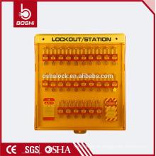 BD-B201 BRADY Multifunktions-Exklusiv-Advanced-Sicherheits-Sperrstation, Lockout Equipment Station