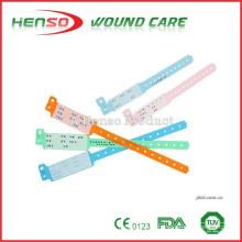 Pulseira de identificação de plástico descartable HENSO