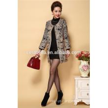 New Fashion Casual Coat Revestimentos de inverno bordados de qualidade superior e casacos de trinche bordados