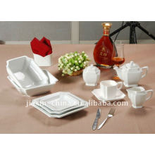 47pcs Baby Abendessen Set quadratische Form Keramik Abendessen gesetzt