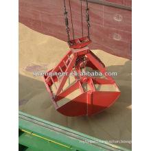 Leakproof grab for grain