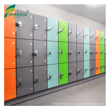Supermarket equipment storage locker coin lookers