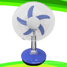 Hoja 5 pulgadas 16 24V DC soporte ventilador recargable ventilador de mesa (SB-T5-DC16D)