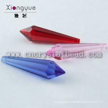 Meilleure vente lustre en cristal prisme lumineux accessoires