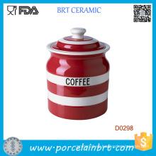 Vajilla de almacenamiento de cerámica del nuevo vajilla del estilo 2016