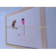 OEM магнитная доска с деревянной рамкой сухой стирать белая доска XD-WD002-1